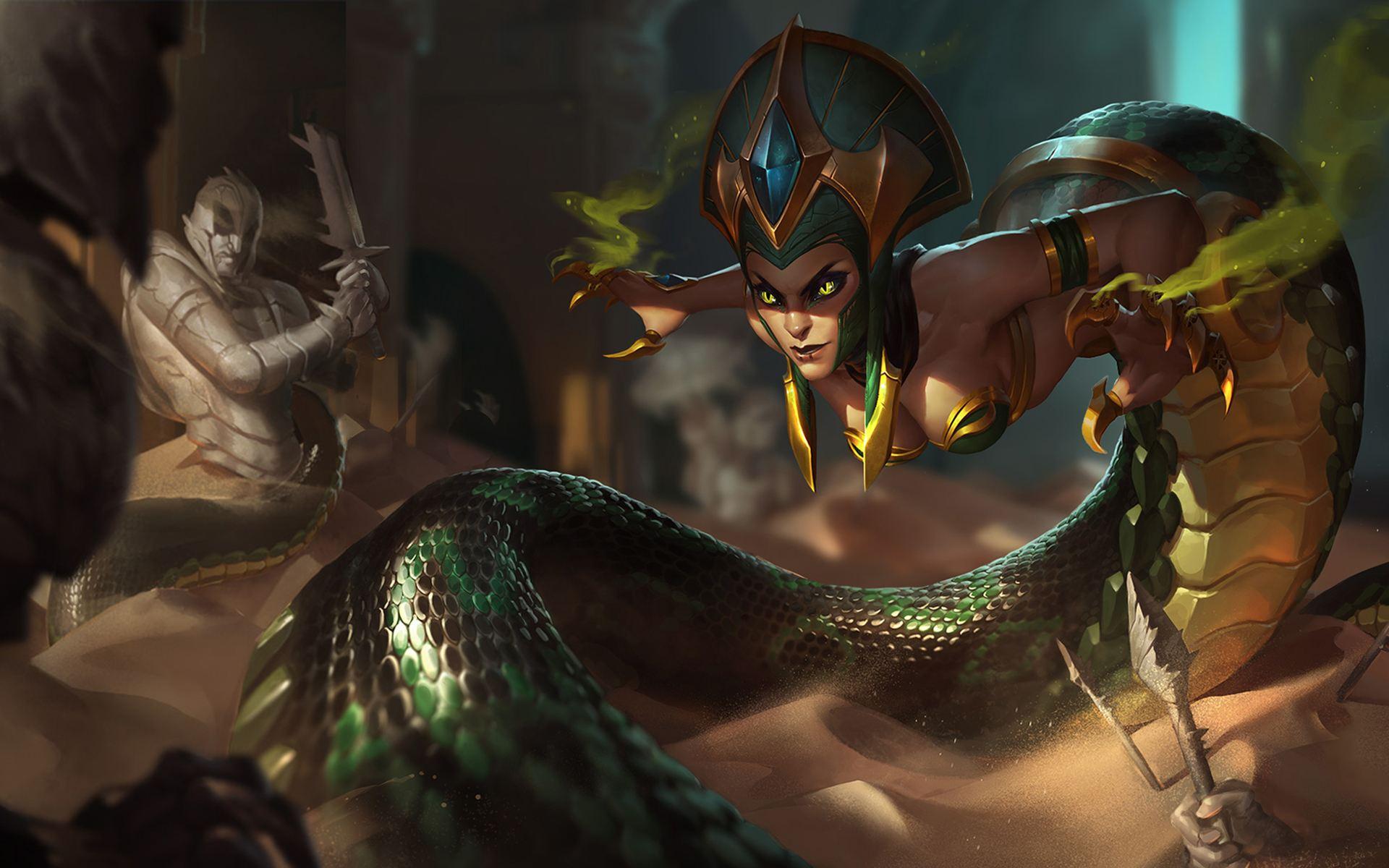 英雄联盟蛇女台词,lol魔蛇之拥卡西奥佩娅台词大全