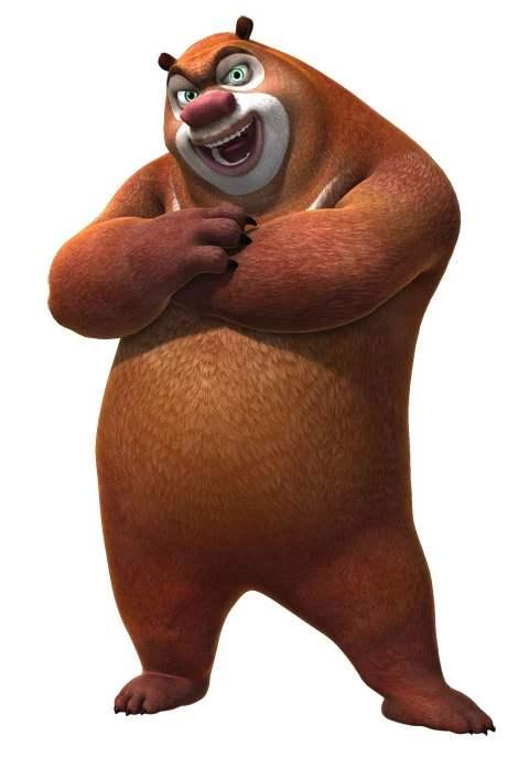 国产动画片《熊出没》中熊大的经典台词