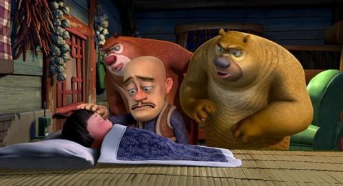 国内首部3D动画大电影《熊出没之夺宝熊兵》经典台词