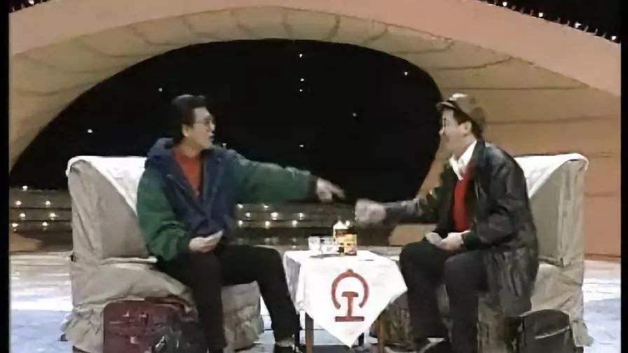 黄宏侯耀文1994年央视春晚小品《打扑克》台词