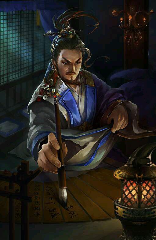 《三国杀》武将陈琳台词