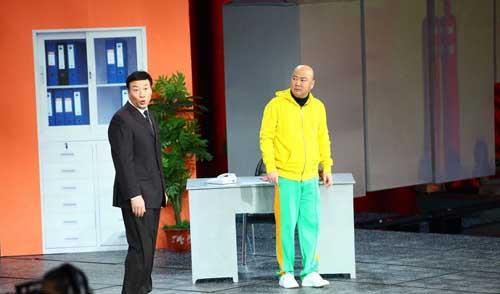 郭冬临魏积安2012年央视春晚小品《面试》台词