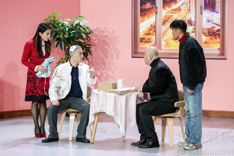 郭冬临刘涛2015年央视春晚小品《一定找到你》台词
