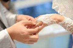 3段婚礼上新人交换戒指的台词
