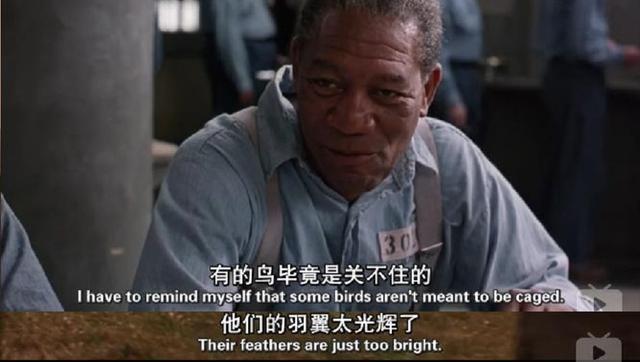 《肖申克的救赎》经典台词节选